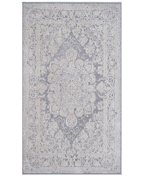 Safavieh Reflection Light Gray and Cream 3' x 5' Area Rug