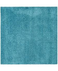 """Safavieh Laguna Turquoise 6'7"""" x 6'7"""" Square Area Rug"""