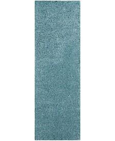 "Reno Turquoise 2'3"" x 7' Runner Area Rug"