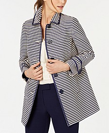 Striped Topper Jacket