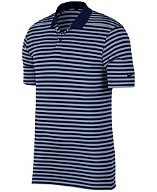 Men's Dry Victory Striped Golf Polo