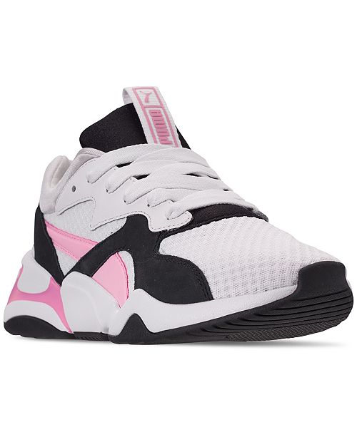 ae102ec54ee ... Puma Women s Nova 90s Block Casual Sneakers from Finish Line ...