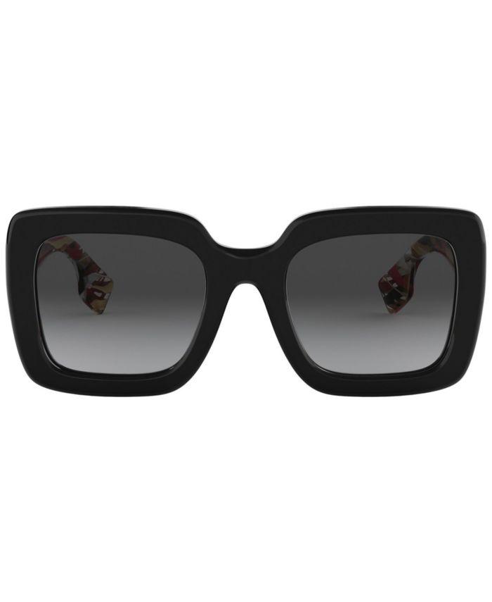 Burberry Polarized Sunglasses, BE4284 52 & Reviews - Sunglasses by Sunglass Hut - Handbags & Accessories - Macy's
