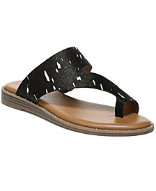 Franco Sarto Ginny Toe Thong Sandals