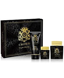 Men's 3-Pc. Crown Gift Set