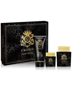 Men's 3-Pc. Crown Gift Set