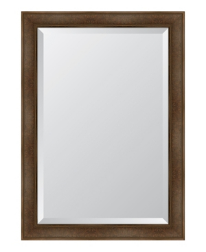 Warm Walnut Framed Mirror - 30