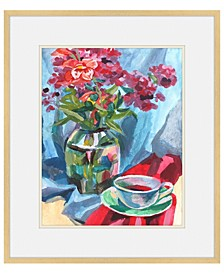 "Study in Rouge Framed Giclee Wall Art - 29"" x 34"" x 2"""