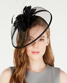 August Hats Feather Fascinator