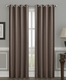 "Sun+Block Thermal Weave Blackout Grommet Single Curtain 52""x84"""