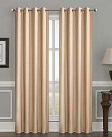 "Silk+Home Luxury Blackout Grommet Single Curtain 52""x84"""