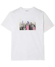 WeSC Men's New York Graphic T-Shirt