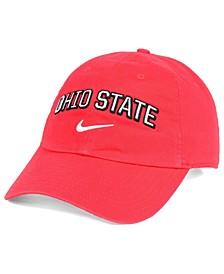 Ohio State Buckeyes H86 Wordmark Swoosh Cap