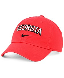 Nike Georgia Bulldogs H86 Wordmark Swoosh Cap