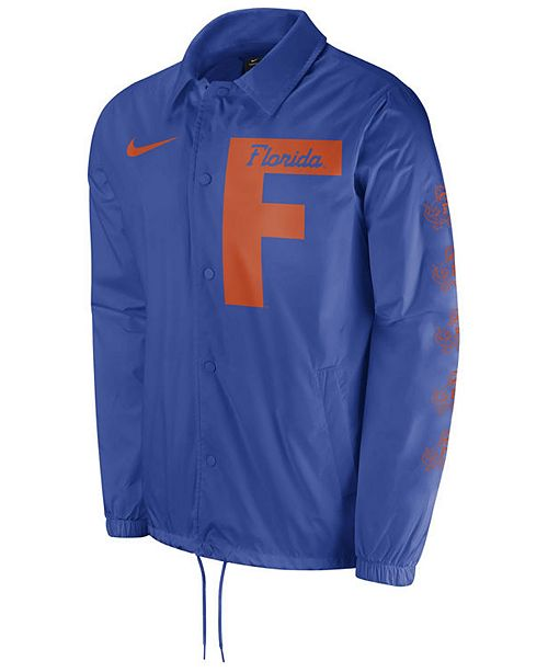 Nike Men's Florida Gators Vault Coaches Jacket