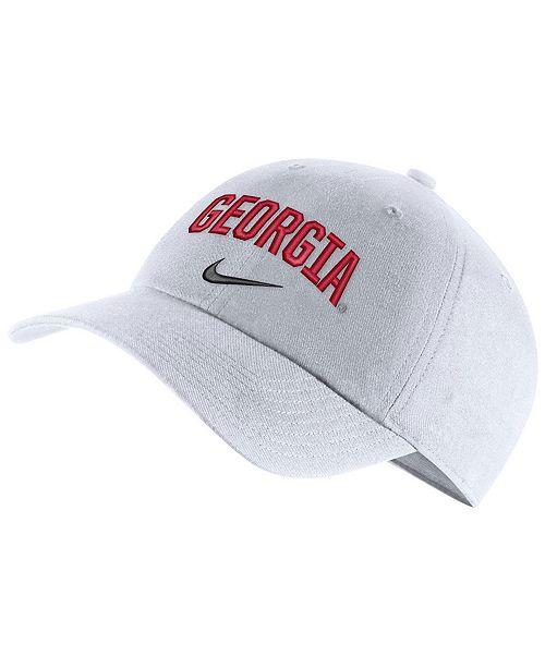 0a6a986b3ce Nike Georgia Bulldogs H86 Wordmark Swoosh Cap - Sports Fan Shop By ...