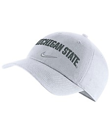 Nike Michigan State Spartans H86 Wordmark Swoosh Cap