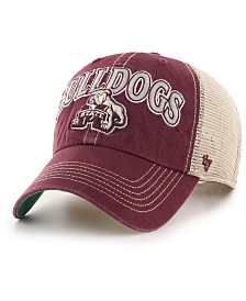 '47 Brand Mississippi State Bulldogs Tuscaloosa Mesh CLEAN UP Cap