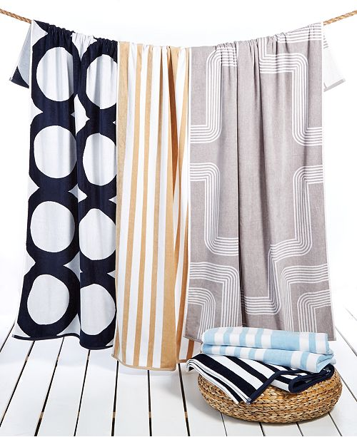 """Hotel Collection  Turkish Cotton 40"""" x 70"""" Resort Towel Collection, Created for Macy's"""