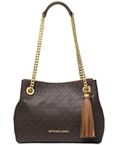 2cb2f17abafc MICHAEL Michael Kors Signature Jet Set Chain Shoulder Bag