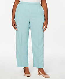 Alfred Dunner Plus Size Versailles Pull-On Pants