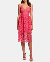 befe9fe17f39 Bardot Sonya Lace Fit & Flare Dress