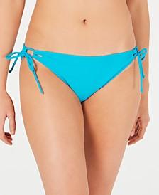 Raisins West Coast Solids Sweet Side-Tie Bikini Bottoms