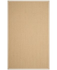 Natural Fiber Natural and Ivory 4' x 6' Sisal Weave Rug
