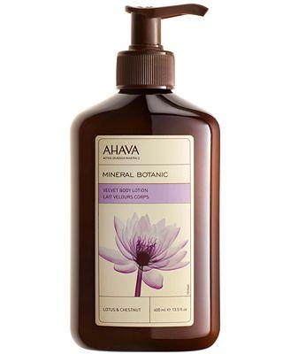 Ahava Mineral Botanic Body Lotion - Lotus & Chestnut