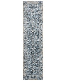 """Safavieh Vintage Persian Blue and Ivory 2'2"""" x 12' Runner Area Rug"""