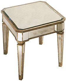 CLOSEOUT! Marais Table, Mirrored End Table