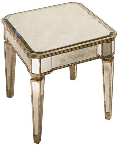 Marais Table, Mirrored End Table - Marais Table, Mirrored End Table - Furniture - Macy's