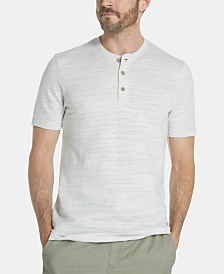 Weatherproof Vintage Jacquard Henley Shirt