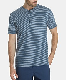 Weatherproof Vintage Men's Striped Henley Shirt