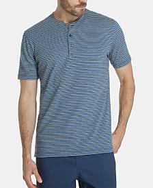 Weatherproof Vintage Men's Striped Henley Shirt