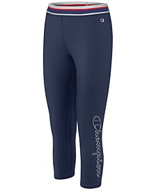Double Dry Logo Capri Leggings