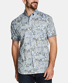 Weatherproof Vintage Men's Floral Leaf Printed Shirt