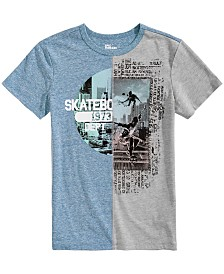 Epic Threads Big Boys Spliced Graphic T-Shirt, Created for Macy's