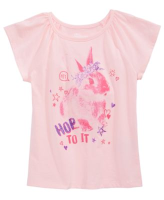 Toddler Girls Hop To It T-Shirt, Created for Macy's