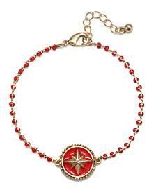 Capwell & Co. Beaded Navigation Bracelet