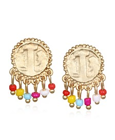 Capwell & Co. Multi Coin Earring