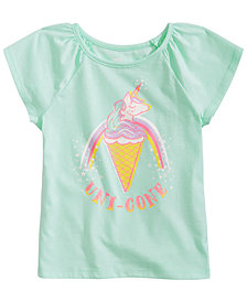Epic Threads Toddler Girls Uni-Cone T-Shirt, Created for Macy's