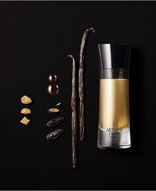 Men's Parfum Fragrance Code Eau De Collection Armani Absolu QtrCxBshd