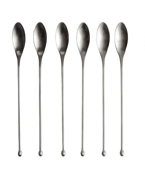 Knork Modern IcedTea6 PieceSpoon Set