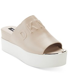 DKNY Covo Platform Slide Sandals, Created for Macy's
