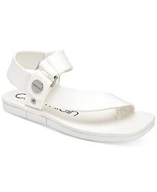 Calvin Klein Women's Rikki Flat Sandals