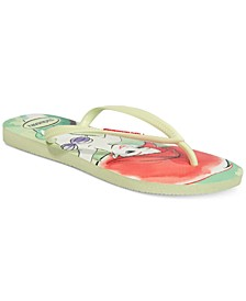 Women's Princess Flip-Flops