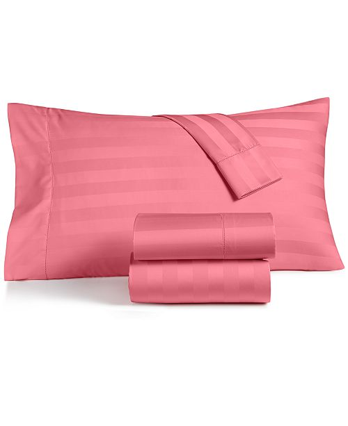 Charter Club  Stripe Sheet Sets, 550 Thread Count 100% Supima Cotton, Created for Macy's