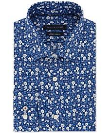Tommy Hilfiger Men's Slim-Fit THFlex Supima® Stretch Non-Iron Floral Dress Shirt