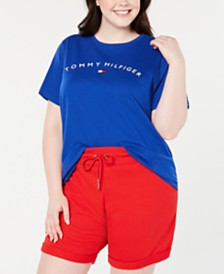 Tommy Hilfiger Sport Plus Size Logo Graphic T-Shirt